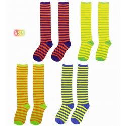 f6395dafcf6 Aποκριάτικο Αξεσουάρ Ριγέ Κάλτσες Κλόουν - 4 Χρώματα