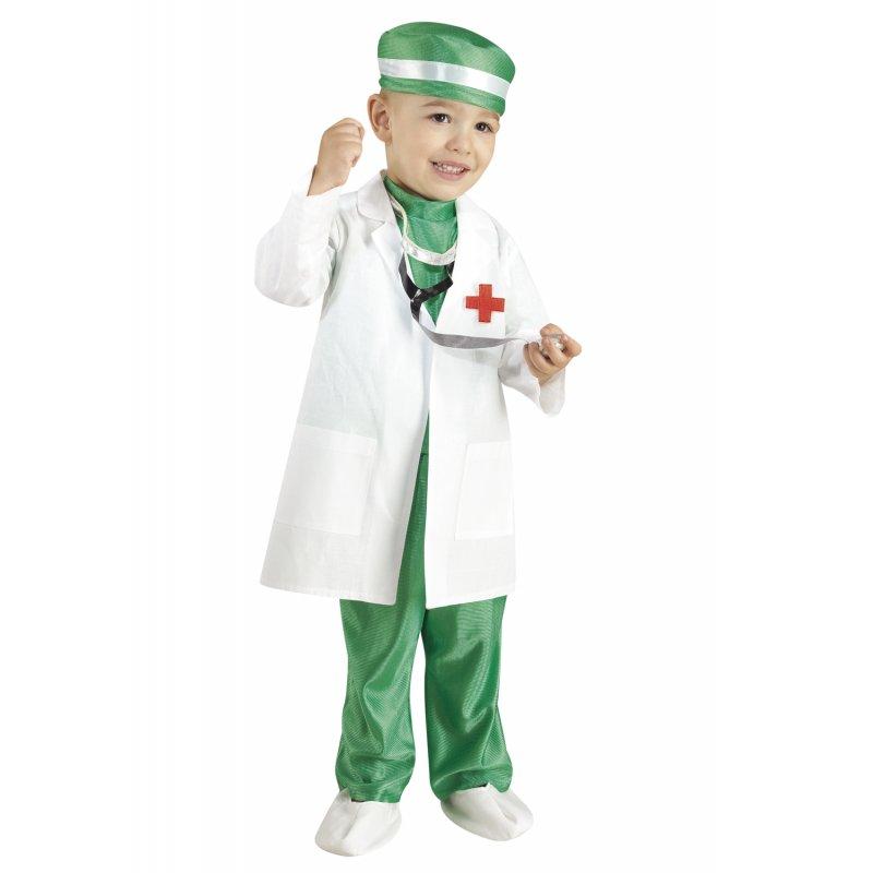 229cabc101d Αποκριάτικη Στολή Γιατρός Μπεμπέ Πράσινη