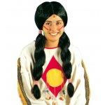 Αποκριάτικη Περούκα Ινδιάνων (2 Σχέδια)