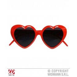 Αποκριάτικο Αξεσουάρ Γυαλιά με Σχήμα Καρδιάς