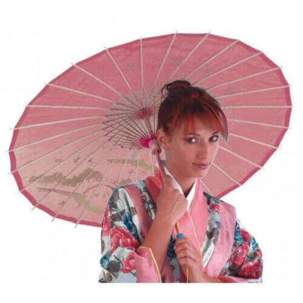 Αποκριάτικο Αξεσουάρ Κινέζικη Ομπρέλα (4 Χρώματα)