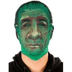 Αποκριάτικη Μάσκα Προσώπου Πράσινο Τέρας
