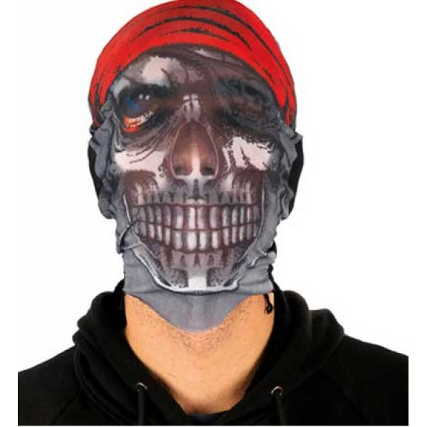 Αποκριάτικη Μάσκα Προσώπου Νεκροκεφαλή