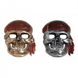 Αποκριάτικη Μάσκα Πειρατή - 2 Χρώματα