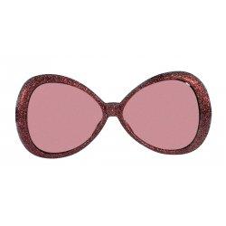 Αποκριάτικο Αξεσουάρ Γυαλιά Glitter Fashion Κόκκινο
