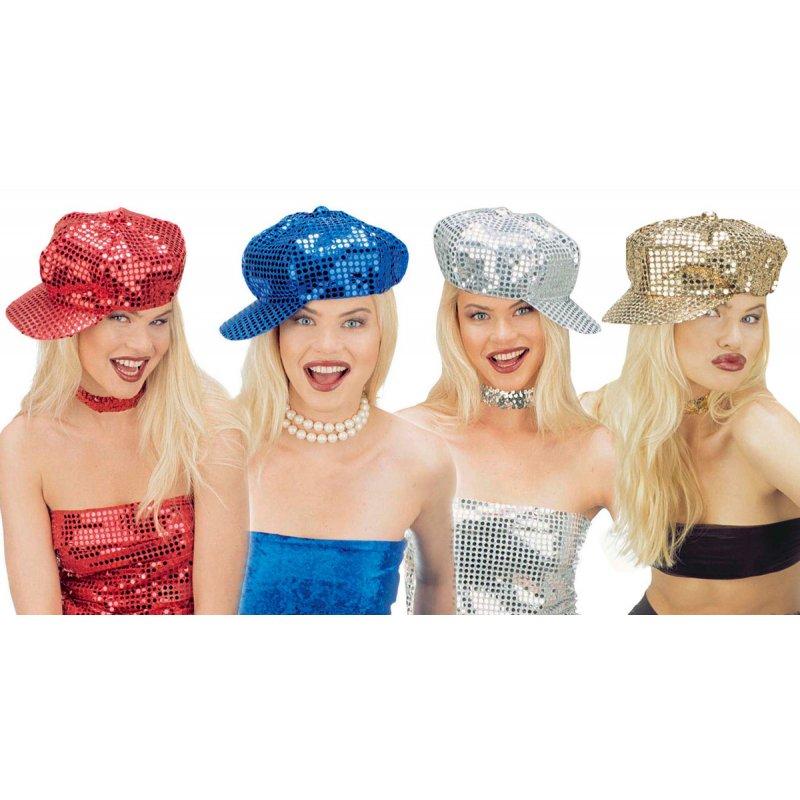 25abb529822 Αποκριάτικο Αξεσουάρ Καπέλο Fashion με Πούλιες (4 Χρώματα)