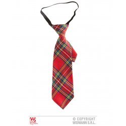Αποκριάτικη Κόκκινη Γραβάτα Ταρτάν