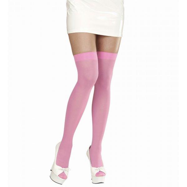 Αποκριάτικες Κάλτσες Ροζ Ψηλές