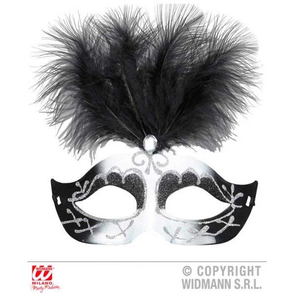 Αποκριάτικο Αξεσουάρ Μάσκα Ματιών με Φτερά