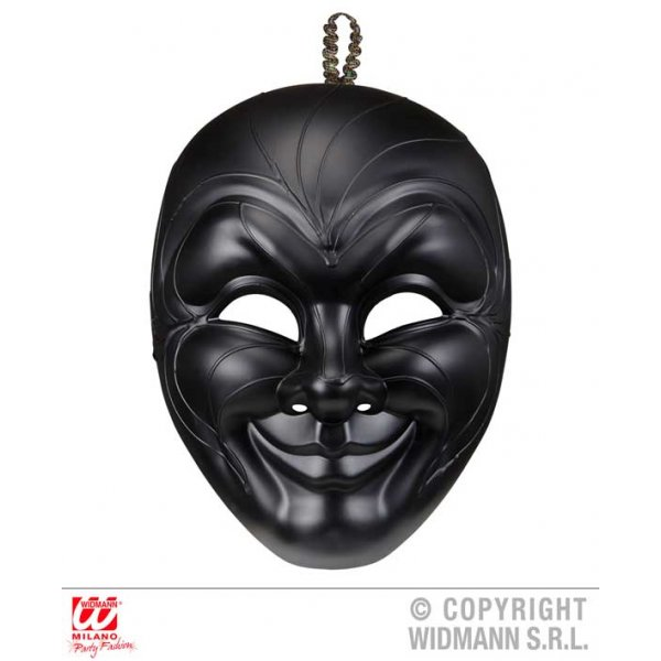 Αποκριάτικο Αξεσουάρ Μάσκα Dark Man Βενετσιάνικη