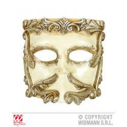 Αποκριάτικο Αξεσουάρ Μάσκα πολυτελείας «Baroque Casanova»