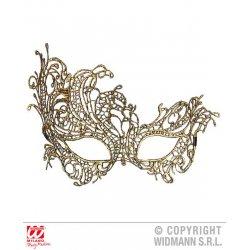 Αποκριάτικο Αξεσουάρ Χρυσή Μάσκα Ματιών Baroque