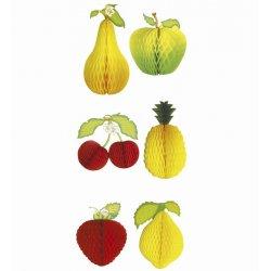 Αποκριάτικο Σετ με Διακοσμητικά Φρούτα - 3 Σχέδια