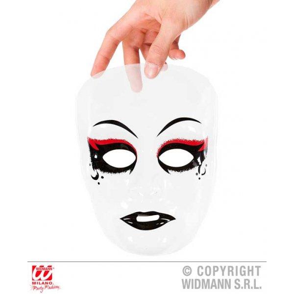 Αποκριάτικο Αξεσουάρ Πλαστική Μάσκα Βρικόλακα