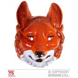 Αποκριάτικο Αξεσουάρ Πλαστική Μάσκα Αλεπού