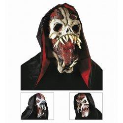 Αποκριάτικη Μάσκα Τρόμου με Κουκούλα (3 Σχέδια)