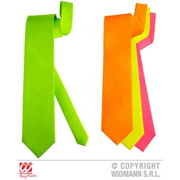 Αποκριάτικη Σατέν Φωσφοριζέ Γραβάτα (4 Χρώματα)
