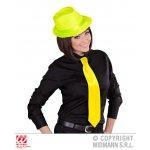 Αποκριάτικη Σατέν Φωσφοριζέ Γραβάτα - 4 Διαφορετικά Χρώματα
