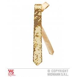 Αποκριάτικη Χρυσή Γραβάτα με Πούλιες
