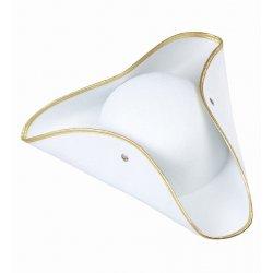 Αποκριάτικο Αξεσουάρ Καπέλο Εποχής, Λευκό