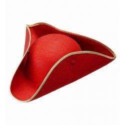Αποκριάτικο Αξεσουάρ Καπέλο Εποχής, Κόκκινο