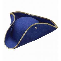 Αποκριάτικο Αξεσουάρ Καπέλο Εποχής, Μπλε
