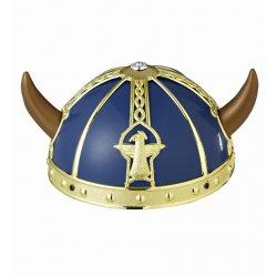 Αποκριάτικο Αξεσουάρ Καπέλο Βίκινγκ Μπλε