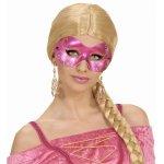 Αποκριάτικη Μάσκα Ματιών με Διαμαντάκια (4 Χρώματα)