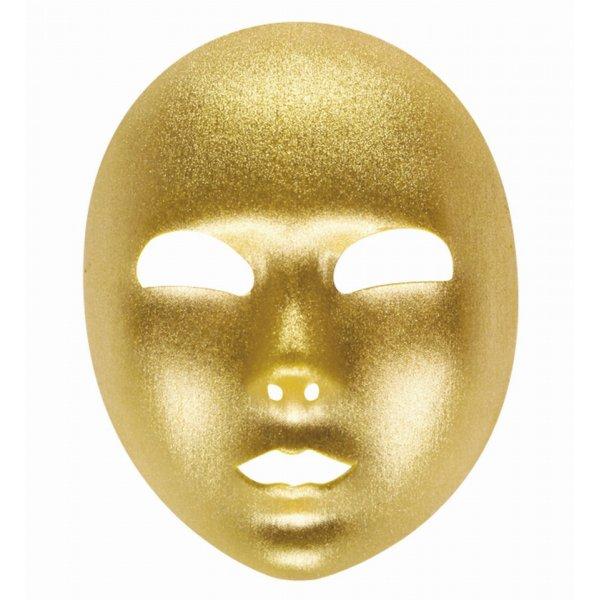 Αποκριάτικη Μάσκα Χρυσή, Υφασμάτινη