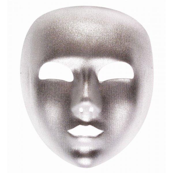 Αποκριάτικη Μάσκα Ασημί, Υφασμάτινη