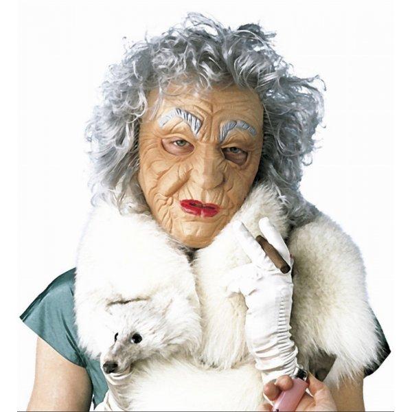 Αποκριάτικη Μάσκα Latex Γιαγιά