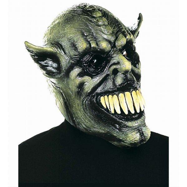Αποκριάτικη Μάσκα Latex Alien, με Μεγάλα Δόντια