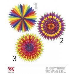 Αποκριάτικοι Ήλιοι Πολύχρωμοι - 3 Χρώματα (50cm)