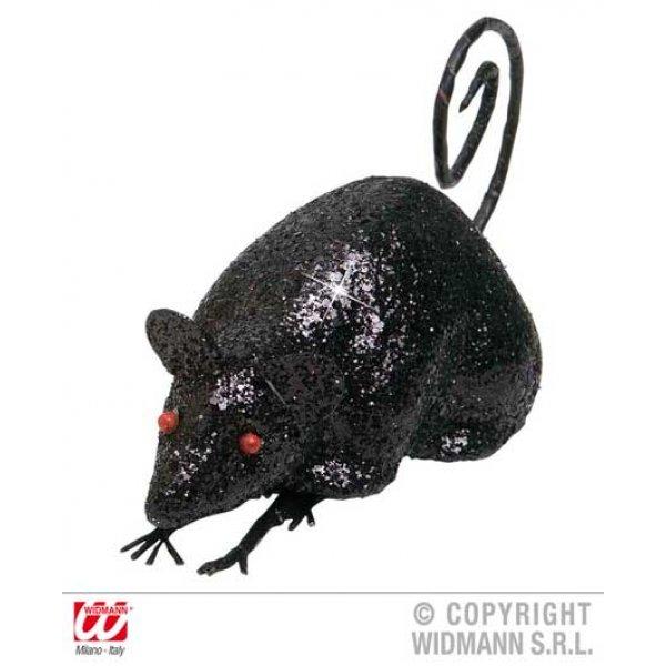 Αποκριάτικο Ποντικάκι με Γκλίτερ (12cm)