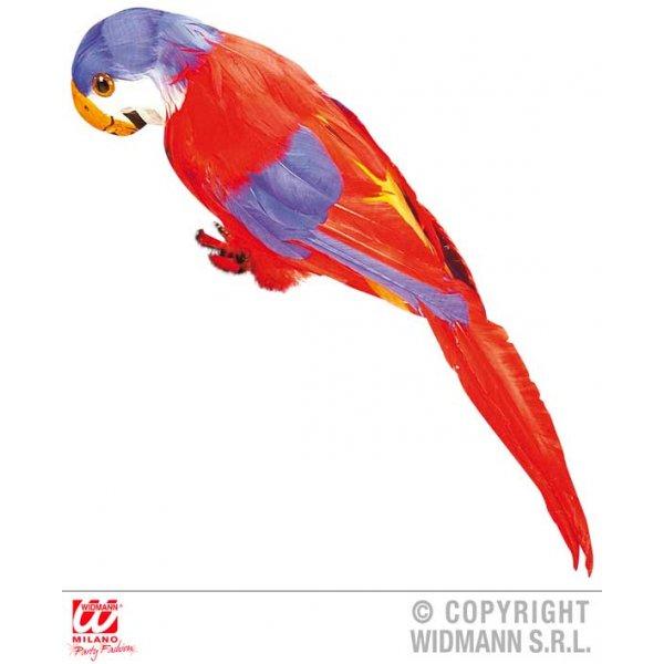 Αποκριάτικος Κόκκινος Φτερωτός Παπαγάλος