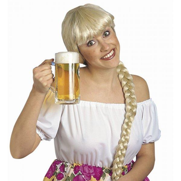 Αποκριάτικη Περούκα Ξανθιά Helga
