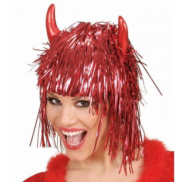 Αποκριάτικη Περούκα Disco Devil - 2 Χρώματα