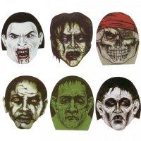 Αποκριάτικες Μάσκες Τρόμου - Υφασμάτινες