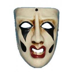 Αποκριάτικη Μάσκα Paper Mache Δάκρυ