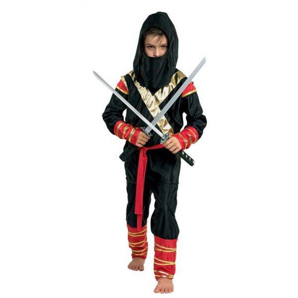 Αποκριάτικη Στολή Ninja Μαύρος