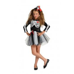 Αποκριάτικη Στολή Σκελετός Κορίτσι