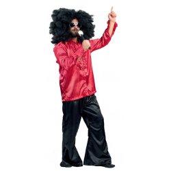 Αποκριάτικη Στολή Disco Man Κόκκινο Σακάκι