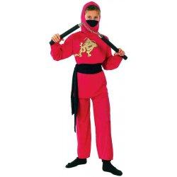 Αποκριάτικη Στολή Κόκκινος Ninja Αγόρι