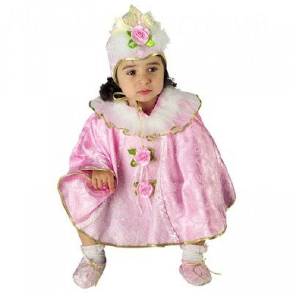 Αποκριάτικη Στολή Μικρή Βασίλισσα Κάπα Μπεμπέ
