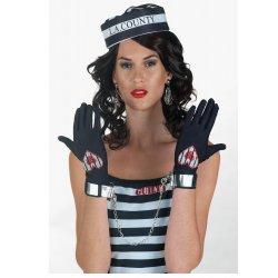 Αποκριάτικο Αξεσουάρ Sexy Cuttie Γάντια