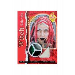 Αποκριάτικο Αξεσουάρ 3 Χρώματα Μακιγιάζ Μάγισσας