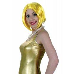 Αποκριάτικο Αξεσουάρ Περούκα Fantasy Κίτρινη