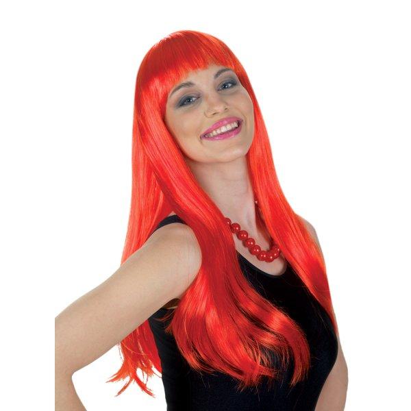 Αποκριάτικο Αξεσουάρ Κόκκινη Περούκα Lola