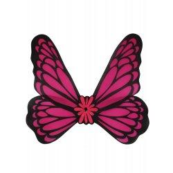 Αποκριάτικο Αξεσουάρ Φούξια Φτερά Πεταλούδας