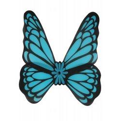 Αποκριάτικο Αξεσουάρ Μπλέ Φτερά Πεταλούδας